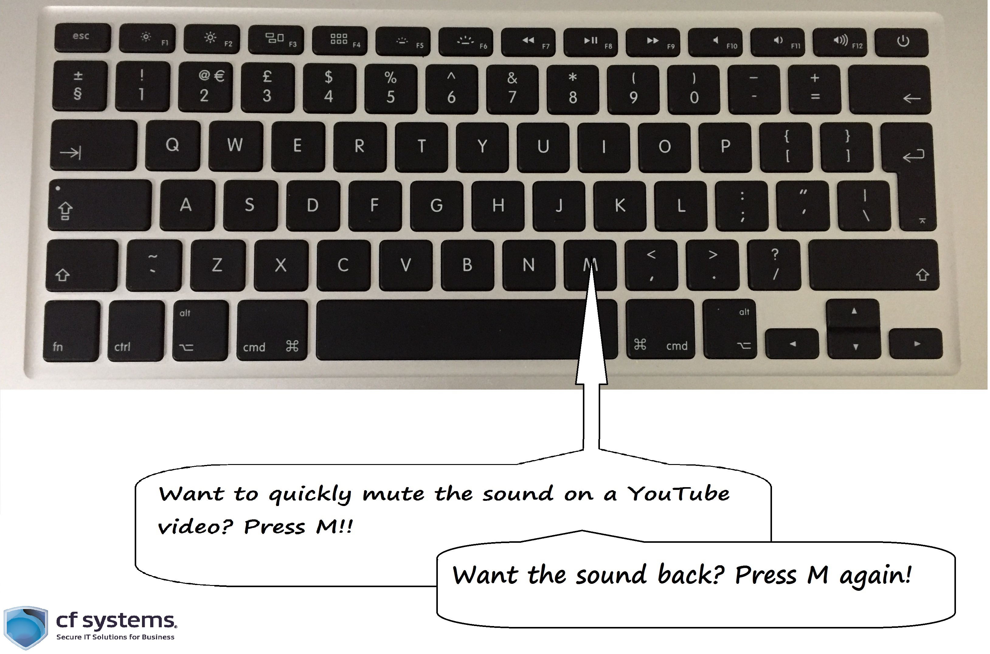 YouTube Tech Tip: mute a video from your keyboard